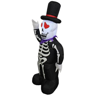 HALLOWEEN- INFLATABLE 4' SKELETON - Impact Canopies USA