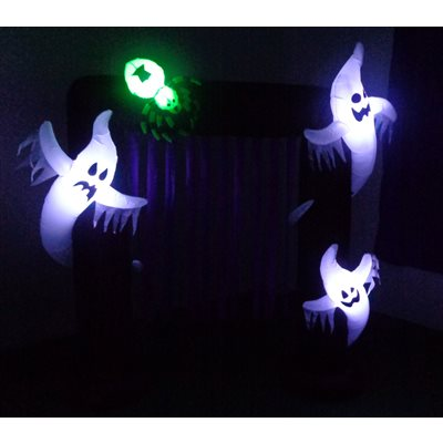 HALLOWEEN - INFLATABLE 8' HALLOWEEN ARCH - Impact Canopies USA
