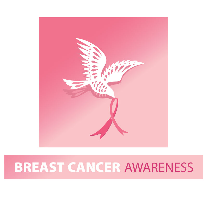 Dove Breast Cancer Awareness 10x10 DS Canopy