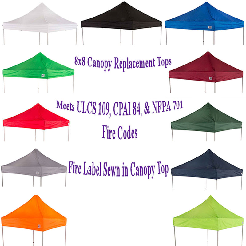 8x8 Pop Up Canopy Tent Replacement Top