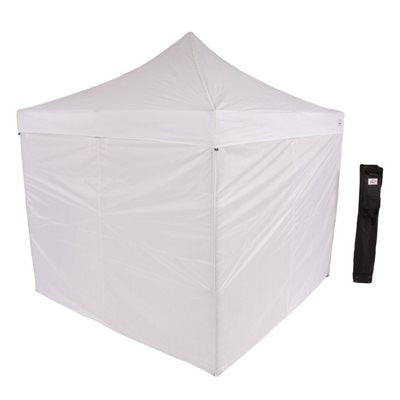 10X10 EVENTO Pop up Canopy Tent with Sidewalls - Impact Canopies USA