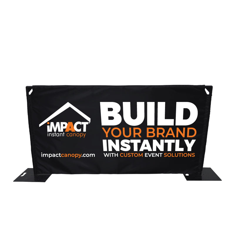 Custom Printed Freestanding Barrier Sign
