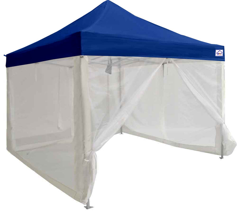 10x10 TL Recreational Grade Pop up canopy Tent with Screen Room Enclosure - Impact Canopies USA