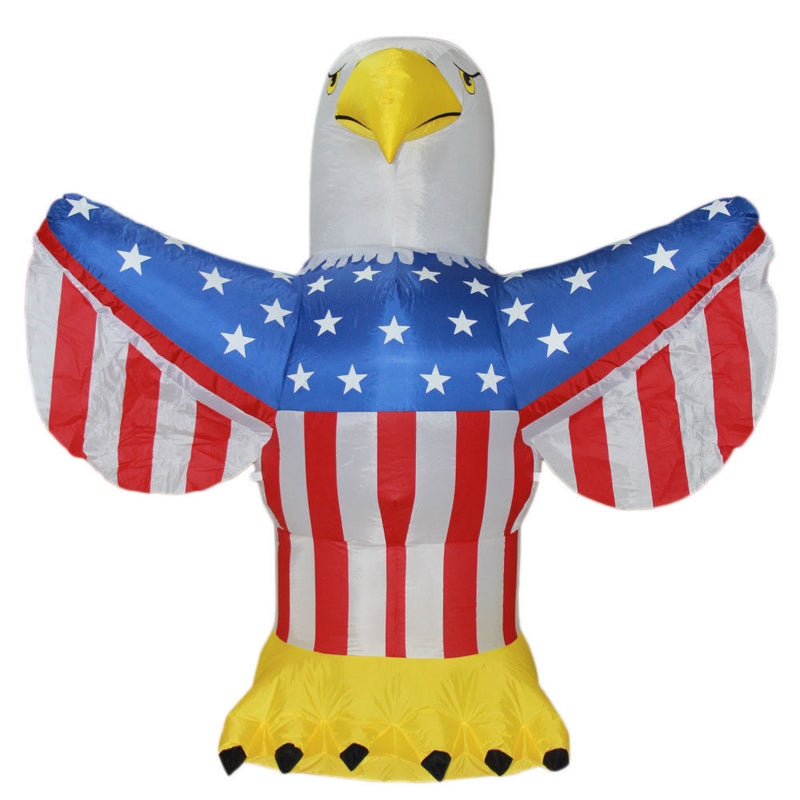 4th of July Airblown Inflatable Yard Decoration American Eagle - 6ft - Impact Canopies USA