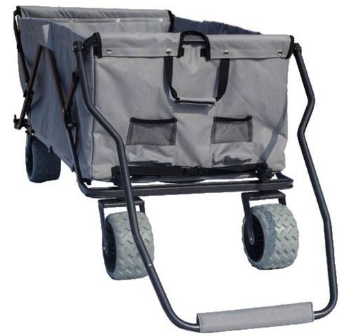 OPEN BOX ITEM All-Terrain XL Grey Folding Wagon Collapsible