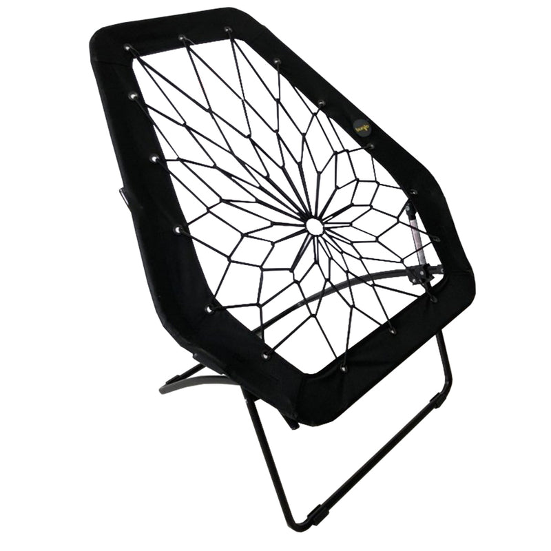 Hex Bungee Chair, Portable Folding Chair, Black - Impact Canopies USA