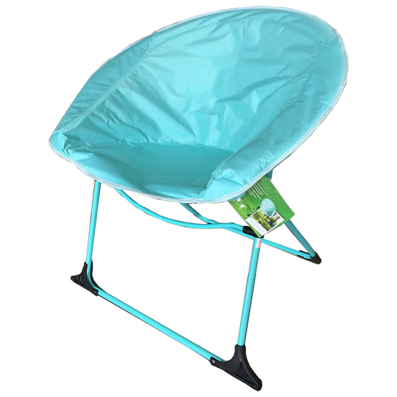 CLEARANCE -Folding Camping Chair - Light Blue