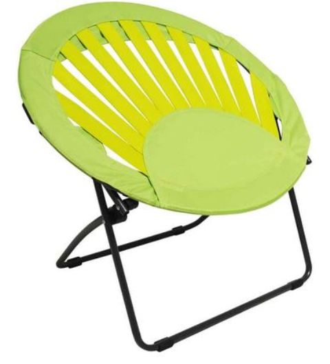 CLEARANCE - Sunrise Bungee Chair - Round - Lime Green