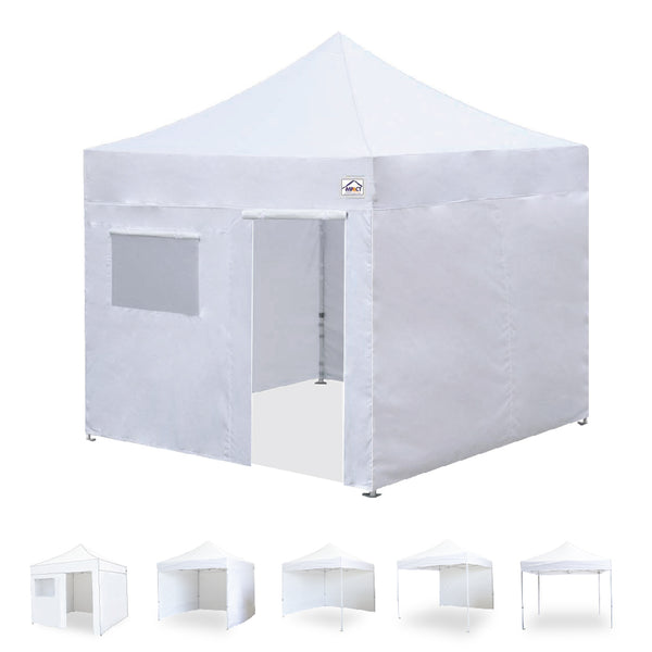 10x10 Emergency Response Shelter with Walls / Weight Bags - Impact Canopies USA