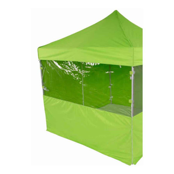 10' Transparent PVC Observation Wall - Impact Canopies USA