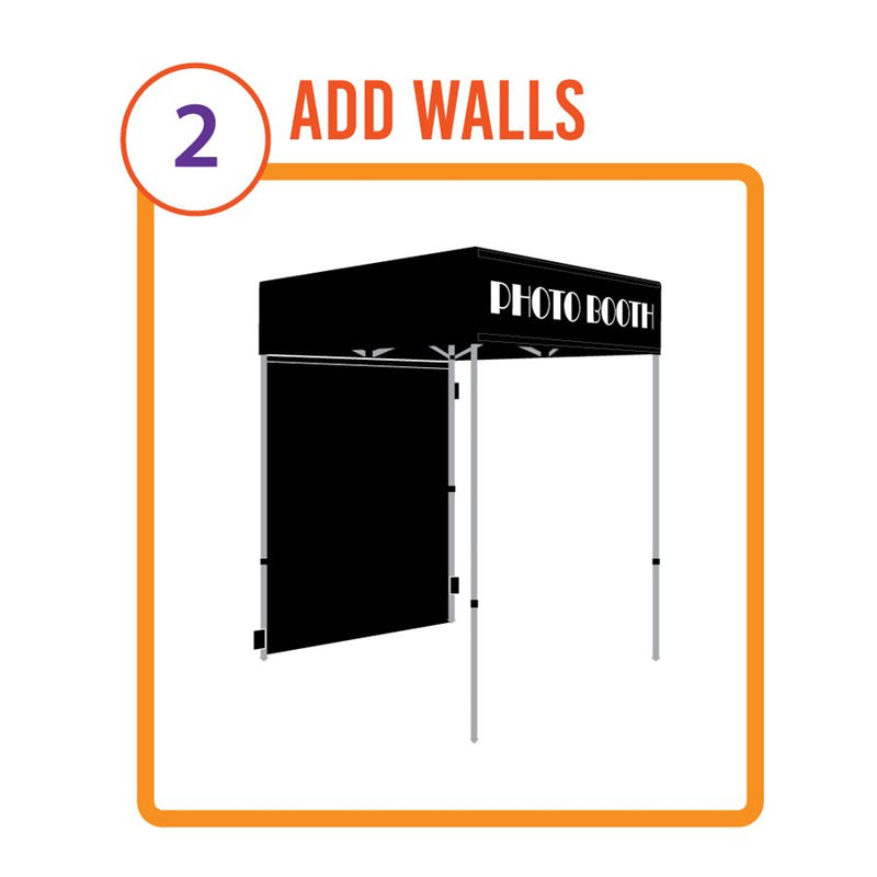Pop up Canopy Portable Photo Booth - Impact Canopies USA