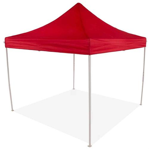 OPEN BOX ITEM TL 10x10 Red Pop Up Canopy Tent Recreational Grade
