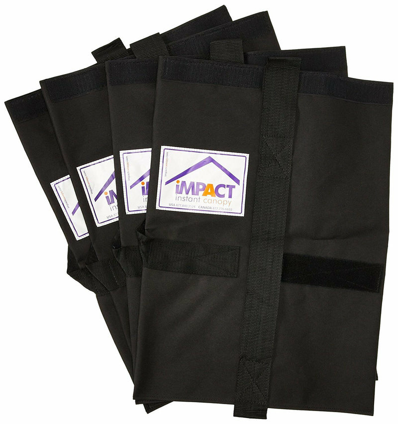 Pop Up Canopy Tent Universal Weight Bag - 4 PACK