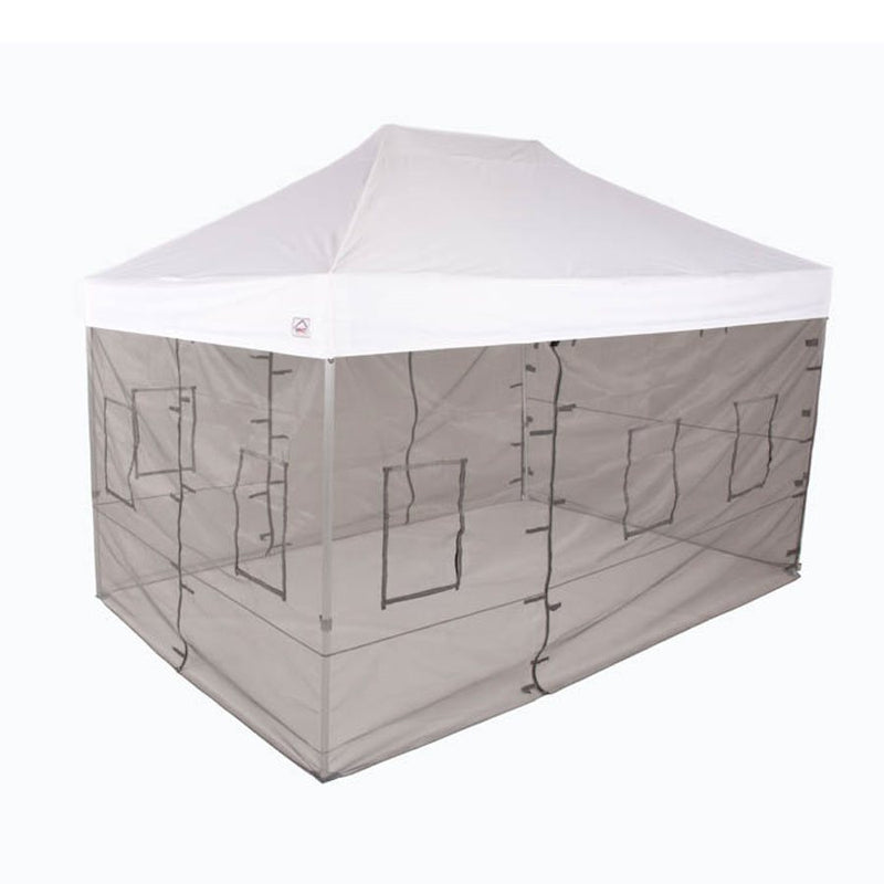 10x20 ML with Food Service Vendor Sidewalls and Windows 500 Denier - Impact Canopies USA