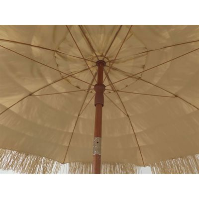 Beach Umbrella - Thatched Tiki Hawaiian Pool Patio Umbrella - Impact Canopies USA
