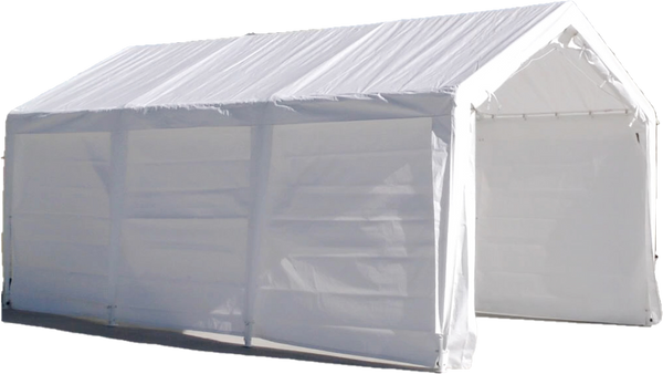 11'x20' Portable Garage Fully Enclosed All Season Carport Canopy