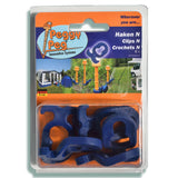 Peggy Peg Haken Normal zu Schraubhering N 6er Set (PP07)