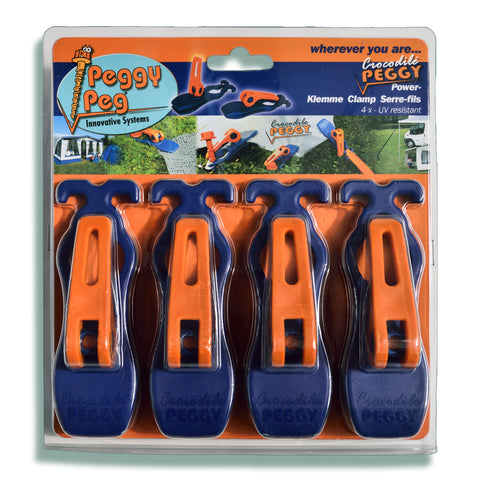 Peggy Peg Crocodile PEGGY® 4er Set (PP10)