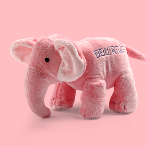 Plush elephant large
