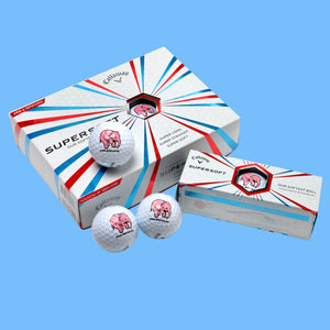Delirium Golf Ball ( price for 3 golf balls, only web)