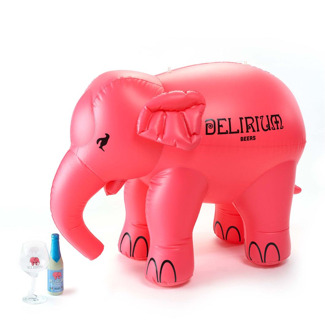 Mini inflatable elephant