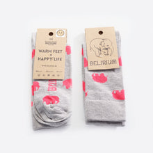Load image into Gallery viewer, Happy Delirium Socks - GREY (only web)