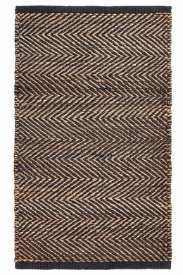 Armadillo Serengeti Charcoal/Natural Entrance Mat