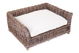 Rectangle Rattan Dog Bed – Large