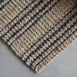 Smith Stripe Jute Rug, Runners and Mats