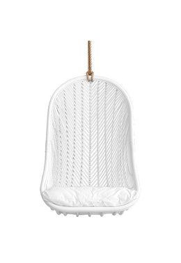 UNIQWA FURNITURE - MAKEBA HANGING CHAIR | WHITE by Uniqwa  $749.00
