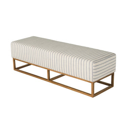 Hunter Ottoman Coast Stripe
