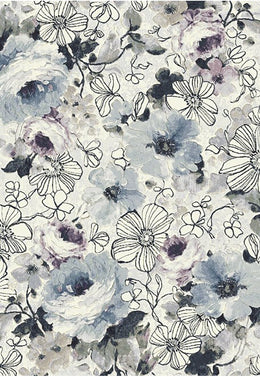 Kensington - 63422-6141 Bouquet - Bayliss Rug