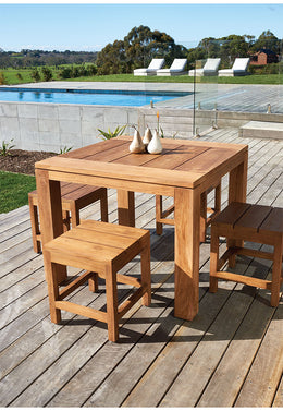 Bairo Teak table square