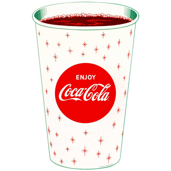 Enjoy Coca-Cola Cup Decal