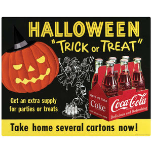 Coca-Cola Halloween Trick or Treat Decal