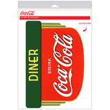 Coca-Cola Deco Diner Decal