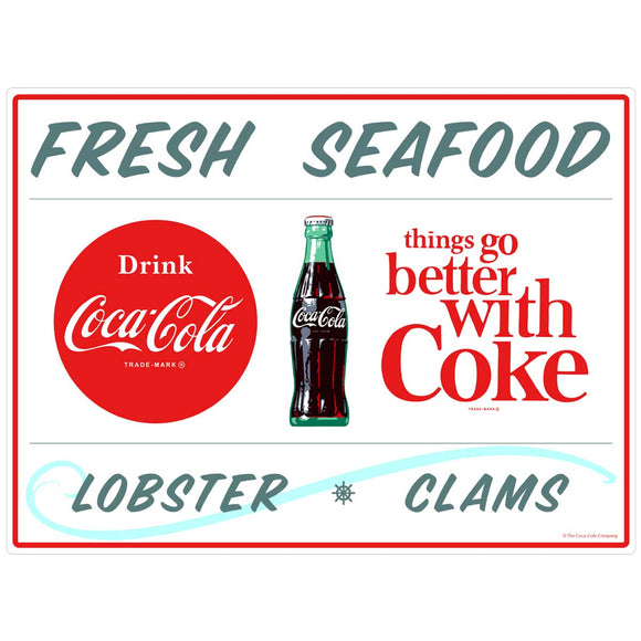 Coca-Cola Fresh Seafood TGBWC Decal