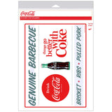 Coca-Cola Genuine BBQ TGBWC Decal