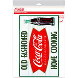 Coca-Cola Old Fashioned Home Cooking Fishtail Decal