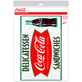 Coca-Cola Delicatessen Sandwiches Fishtail Decal