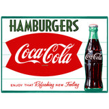 Coca-Cola Hamburgers Fishtail Decal