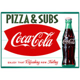 Coca-Cola Pizza & Subs Fishtail Decal