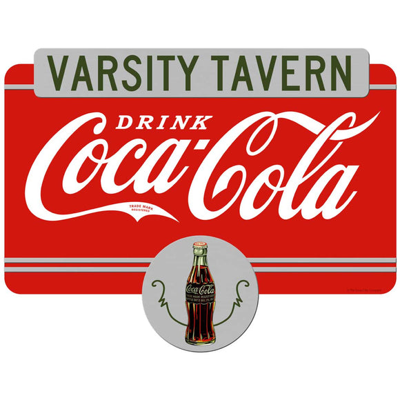 Drink Coca-Cola Varsity Tavern Decal