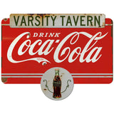 Drink Coca-Cola Varsity Tavern Decal Distressed