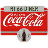 Drink Coca-Cola Rt 66 Diner Decal