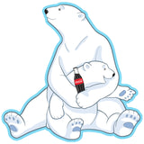 Coca-Cola Polar Bear Hug Decal
