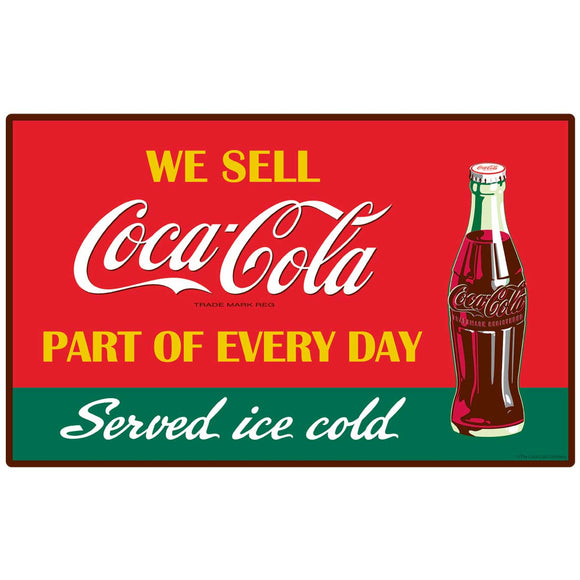 We Sell Coca-Cola Decal