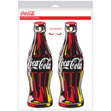 Coca-Cola Pop Art Bottle Decal Set
