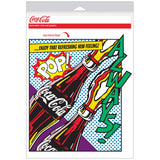 Coca-Cola Pop Art Bottles Comic Style Decal