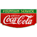 Coca-Cola Fountain Service Decal